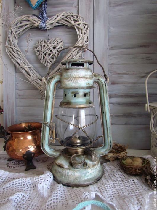 """Подсвечники ручной работы. Ярмарка Мастеров - ручная работа. Купить Лампа """"Иней в кружевах """". Handmade. Винтаж, лампа, кружева"""