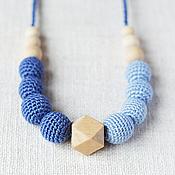 """Одежда ручной работы. Ярмарка Мастеров - ручная работа Слингобусы """"Стиль"""" в синем. Handmade."""