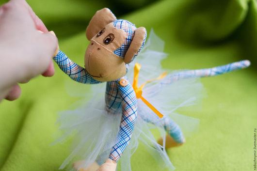 Игрушки животные, ручной работы. Ярмарка Мастеров - ручная работа. Купить Радужная обезьянка. Handmade. Комбинированный, игрушка