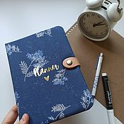 Канцелярские товары handmade. Livemaster - original item Daily Heart Diary. Handmade.