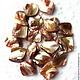 Для украшений ручной работы. Ярмарка Мастеров - ручная работа. Купить Перламутр, бусина ромб, 16х15 до 24х21 мм. Handmade.