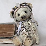 """Куклы и игрушки ручной работы. Ярмарка Мастеров - ручная работа Мишка-Тедди """"Генри стимпанк"""". Handmade."""