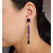 Украшения handmade. Livemaster - original item Lightweight long earrings.. Handmade.