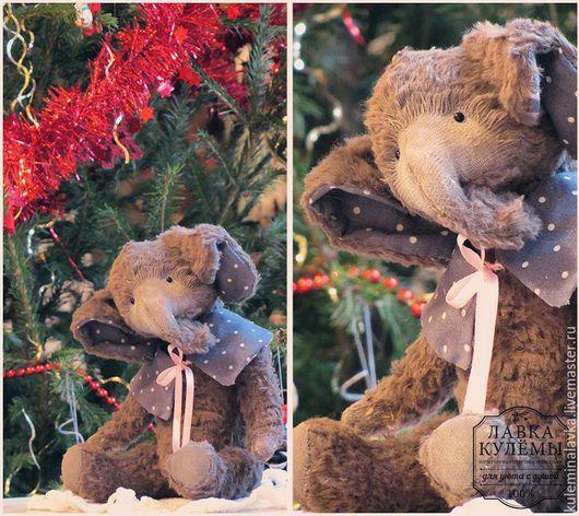 Мишки Тедди ручной работы. Ярмарка Мастеров - ручная работа. Купить Тедди-слон. Handmade. Тедди, мишка-тедди
