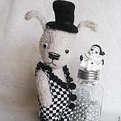 Куклы и игрушки ручной работы. Ярмарка Мастеров - ручная работа Заяц Патрик Кроликов. Handmade.