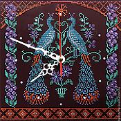Для дома и интерьера ручной работы. Ярмарка Мастеров - ручная работа Часы- оберег для семейного благополучия. Handmade.