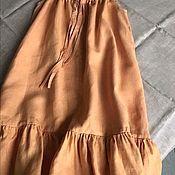 Юбки ручной работы. Ярмарка Мастеров - ручная работа Сорочка +халат комплект. Handmade.