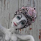 Куклы и игрушки ручной работы. Ярмарка Мастеров - ручная работа Гамаюн, птица вещая. Handmade.