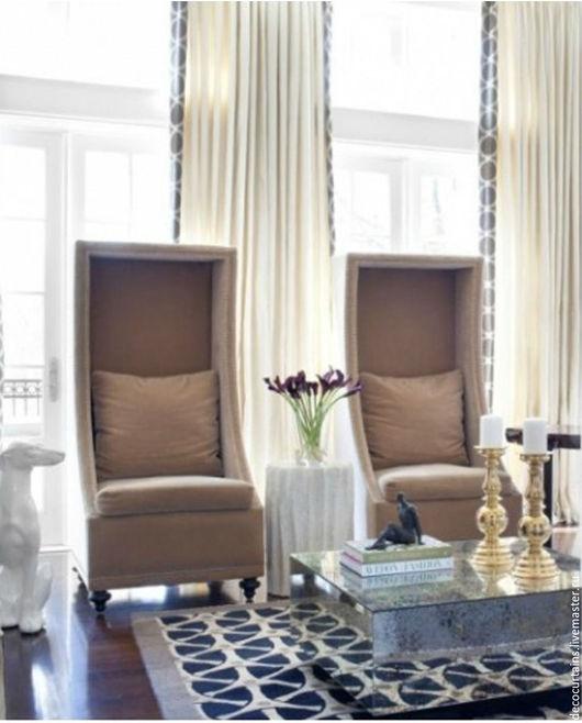Мебель ручной работы. Ярмарка Мастеров - ручная работа. Купить ОГРОМНОЕ Кресло Ар Деко(с готическими элементами)высокая спинка. Handmade.