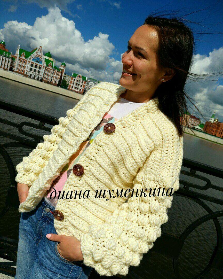 Aisha knitted cardigan, Cardigans, Yoshkar-Ola,  Фото №1