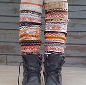 Русский стиль handmade. Livemaster - original item Leggings
