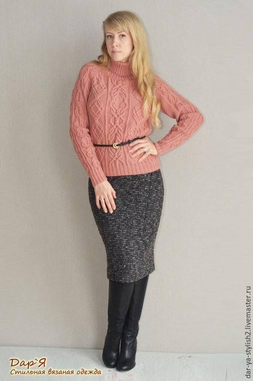 """Кофты и свитера ручной работы. Ярмарка Мастеров - ручная работа. Купить """"Кендис"""" - женский вязаный свитер. Handmade. Свитер"""