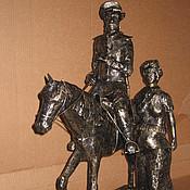 """Для дома и интерьера ручной работы. Ярмарка Мастеров - ручная работа Арт.33   кованая скульптура """"Тихий Дон"""". Handmade."""