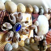 """Для дома и интерьера ручной работы. Ярмарка Мастеров - ручная работа Зеркало """"Дыхание моря"""". Handmade."""