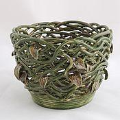 Цветы и флористика handmade. Livemaster - original item Pots Swamp nymph. Handmade.