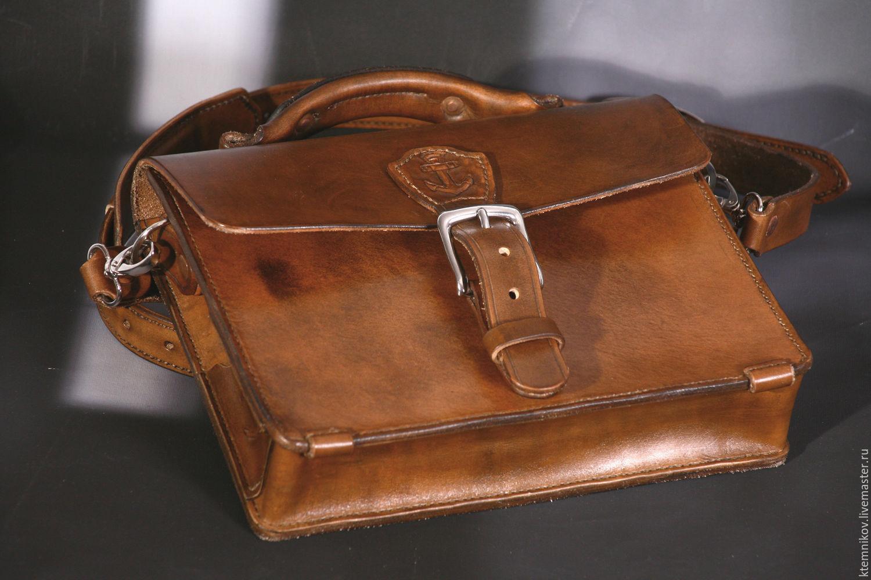 f4bcd3ad Мужские сумки ручной работы. Ярмарка Мастеров - ручная работа. Купить Сумка  мужская