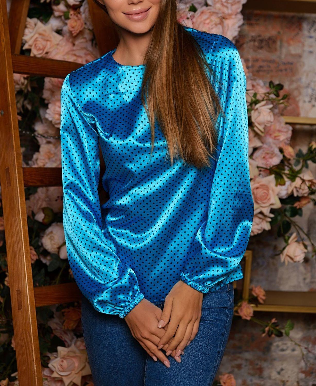 Блузки ручной работы. Ярмарка Мастеров - ручная работа. Купить Блуза 408. Handmade.