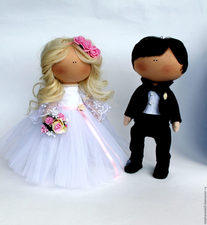 Своими руками невеста и жених кукла сшить 31
