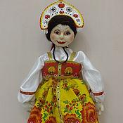 Наборы ручной работы. Ярмарка Мастеров - ручная работа Кукла -пакетница. Handmade.