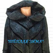 handmade. Livemaster - original item The coat made of nutria. Handmade.