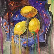 Картины и панно ручной работы. Ярмарка Мастеров - ручная работа Лимонад. Handmade.