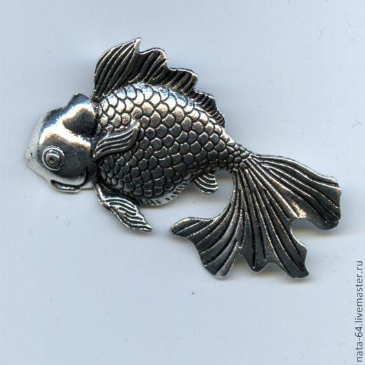 Для украшений ручной работы. Ярмарка Мастеров - ручная работа. Купить Золотая рыбка. Handmade. Украшения ручной работы