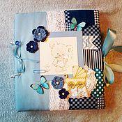 Подарки к праздникам ручной работы. Ярмарка Мастеров - ручная работа Альбом для мальчика. Handmade.