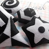 """Куклы и игрушки ручной работы. Ярмарка Мастеров - ручная работа Черно-белый мобиль для новорожденного """"Геометрия"""". Handmade."""