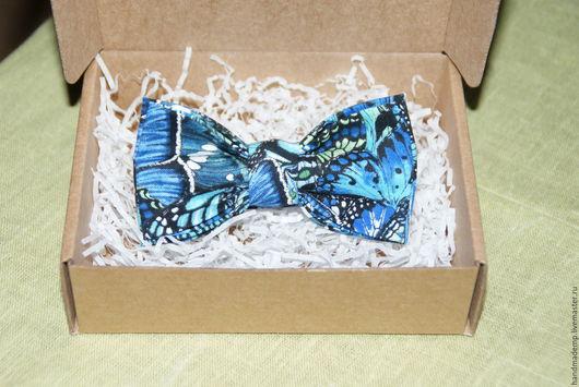 Галстуки, бабочки ручной работы. Ярмарка Мастеров - ручная работа. Купить галстук-бабочка. Handmade. Синий, галстук бабочка купить