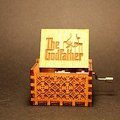Музыкальные инструменты handmade. Livemaster - original item Music box the Godfather The godfather the hurdy-gurdy. Handmade.