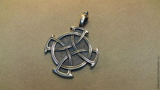 Кулоны, подвески ручной работы. Ярмарка Мастеров - ручная работа. Купить Кельтский крест. Handmade. Кельтский крест, амулет, мужчине