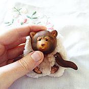 Куклы и игрушки ручной работы. Ярмарка Мастеров - ручная работа Карманный мих. Handmade.
