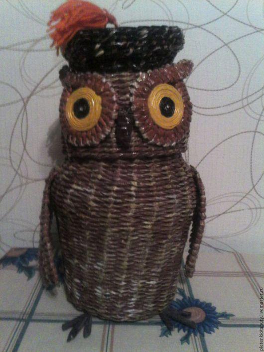 Шкатулка `Мудрая сова`- прекрасный подарок к любому празднику