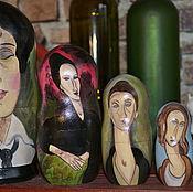 Русский стиль handmade. Livemaster - original item Matryoshka Modigliani. Handmade.