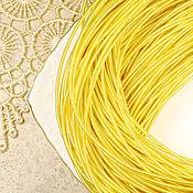 Материалы для творчества ручной работы. Ярмарка Мастеров - ручная работа Канитель жесткая темное золото 1,25 мм. Handmade.