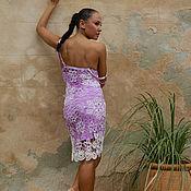 Одежда ручной работы. Ярмарка Мастеров - ручная работа Платье вязаное узнай меня лучше. Handmade.