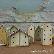 Куклы и игрушки ручной работы. Ярмарка Мастеров - ручная работа Домики на побережье. Handmade.