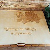 Органайзеры ручной работы. Ярмарка Мастеров - ручная работа Органайзеры: Коробка для хранения тюбиков. Handmade.