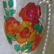 Посуда ручной работы. Ярмарка Мастеров - ручная работа Как хороши, как свежи были розы.... Handmade.