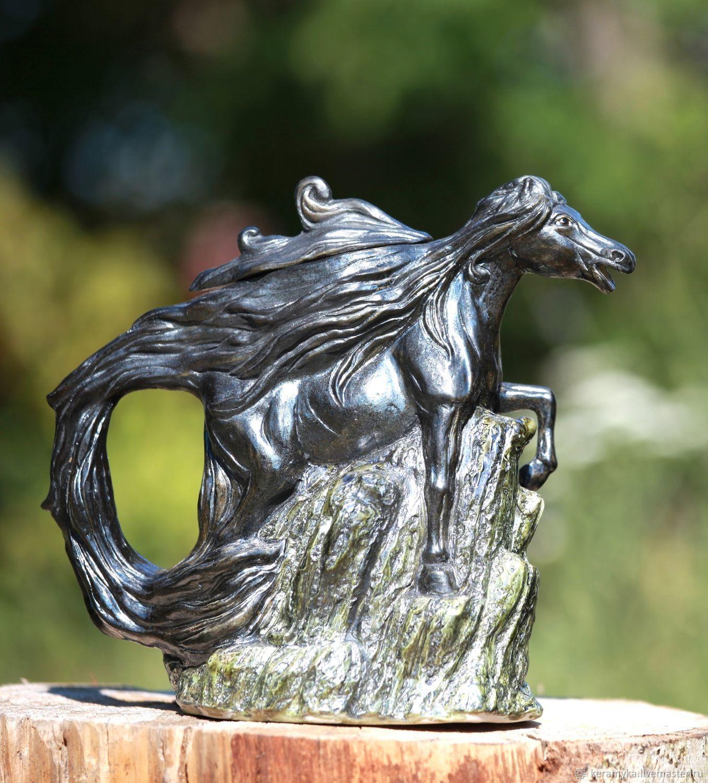 The tea pot 'Horse', Teapots & Kettles, Shigony,  Фото №1