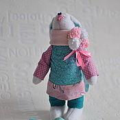 Куклы и игрушки ручной работы. Ярмарка Мастеров - ручная работа Зайка мятно-конфетная. Handmade.