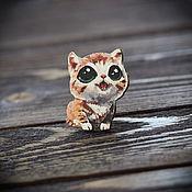 Украшения handmade. Livemaster - original item Wooden icon Kitty. Handmade.