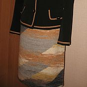 """Одежда ручной работы. Ярмарка Мастеров - ручная работа Юбка """"Диагональ"""". Handmade."""