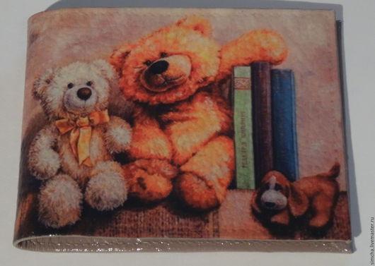 Обложки ручной работы. Ярмарка Мастеров - ручная работа. Купить Обложка на студенческий или удостоверение кожаная. Любимые игрушки. Handmade.