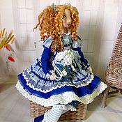 Куклы и пупсы ручной работы. Ярмарка Мастеров - ручная работа . Авторская текстильная интерьерная кукла. Handmade.