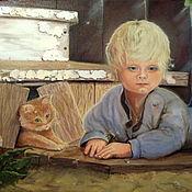 Картины и панно handmade. Livemaster - original item Childhood. Handmade.