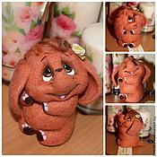 Куклы и игрушки ручной работы. Ярмарка Мастеров - ручная работа Няша слоняша. Handmade.