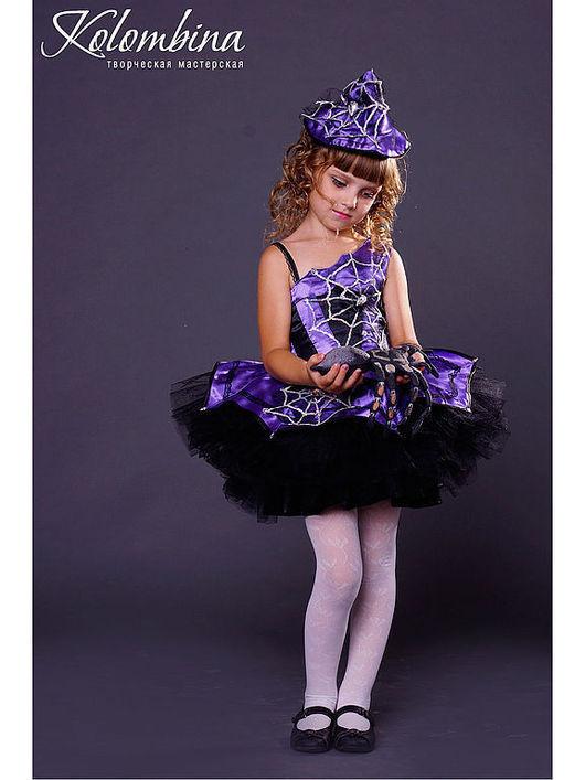 Детские карнавальные костюмы ручной работы. Ярмарка Мастеров - ручная работа. Купить карнавальный костюм ведьмы, колдуньи. Handmade.