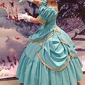 Одежда ручной работы. Ярмарка Мастеров - ручная работа Бальное платье в стили 19-го века. Handmade.