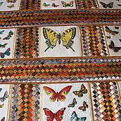 Для дома и интерьера ручной работы. Ярмарка Мастеров - ручная работа Покрывало  Волшебный мир бабочек. Handmade.